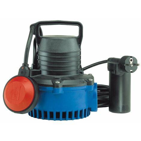 Calpeda GM10 Pompe immergéé vide cave pour cuve de recuperation d'eau de pluie puisard automatique avec flotteur 0,3Kw vider un réservoir endroit 220V