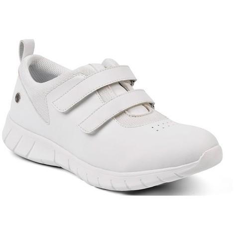 464fb3729 Calzado antideslizante Suecos ELIS con ajusete en velcro color blanco