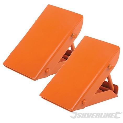 Calzos de acero para ruedas (2 clazos)