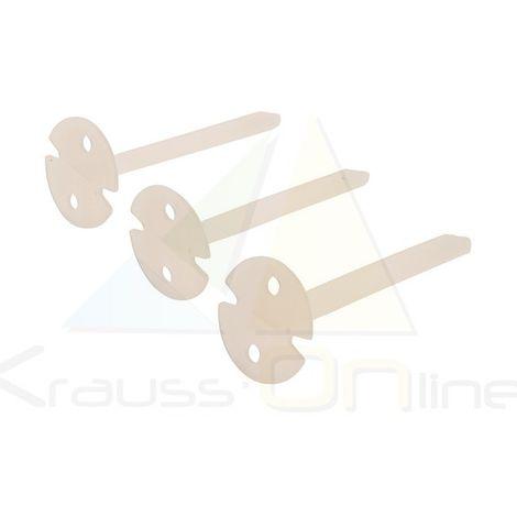 Calzos niveladores para azulejos, 100 pzas (Silverline-625901)