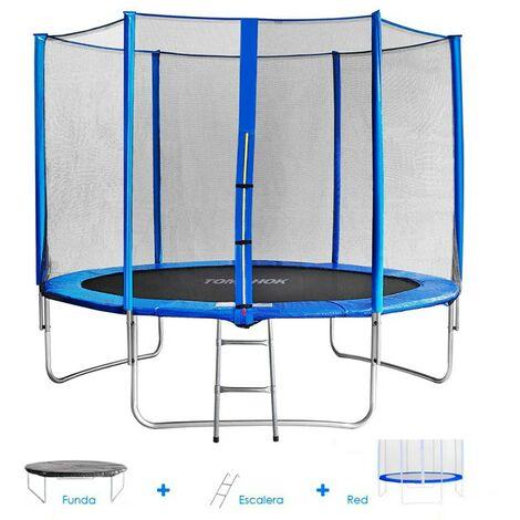Cama elástica para jardín Tomahok 2,45 m - hasta 100 kg
