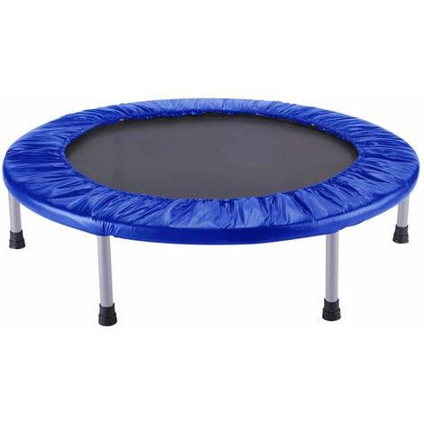Cama Elástica Trampolín Outdoor Toys Fitness Blue Diametro 102 cm