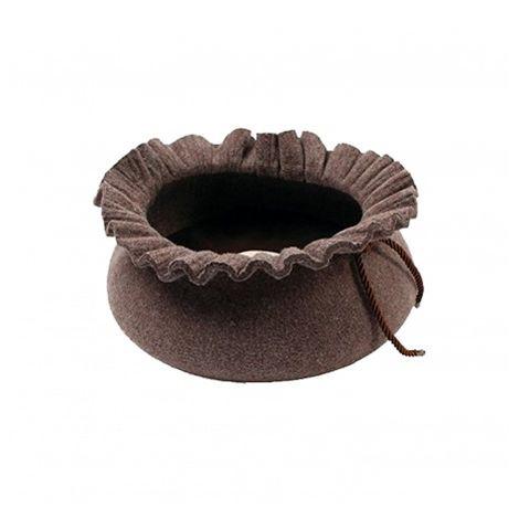 Cama en forma de saco Marrón