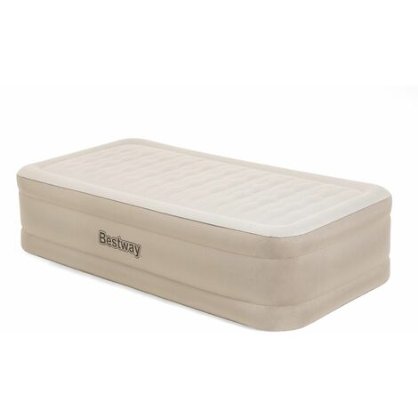 Cama Hinchable Bestway Air Mattress Twin (Doble) 191x97x46 cm Inflador Integrado - 69048