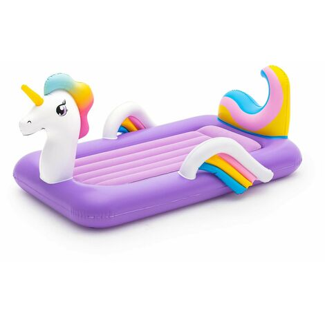 Cama Hinchable Infantil Unicornio Bestway 196x104x84 cm - 67713