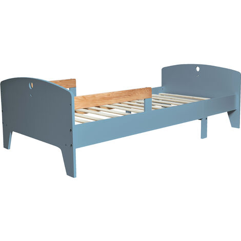 Cama Infantil evolutiva 90X140/170/200 CM, Color Azul