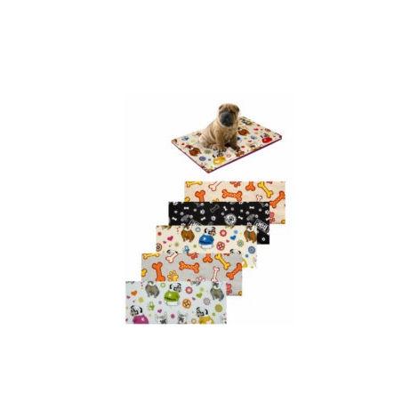 Cama Mascota 80x120x5cm Estampada Teplas Text Surt 842633400