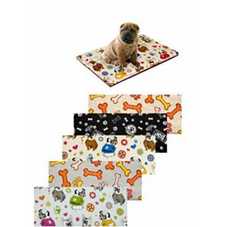 Cama Mascota Estampada 40X70X5Cm Textil Surtidos Teplas 8426334014933