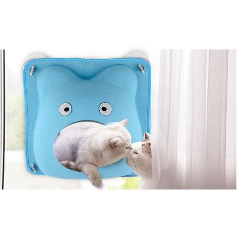 Cama para mascotas Cat Cat, Gato hamaca,azul