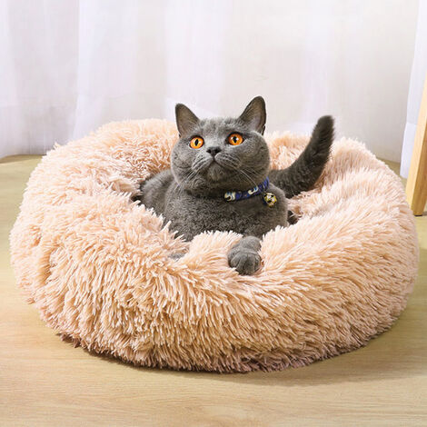 Cama para perros ,colchón para perros, sofá acolchado para mascotas lavable Cómoda casa para gatos perros Rosado