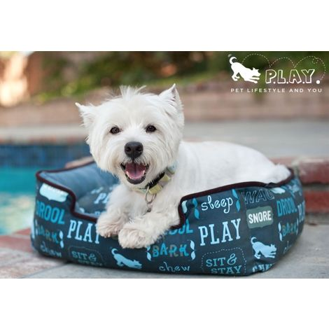 Cama para perros - Dog\'s Life Azul Oscuro
