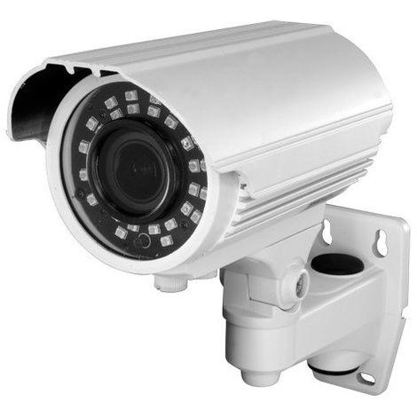 Cámara bullet 720p 4 en 1 todas las tecnologías, óptica varifocal, visión nocturna 40m