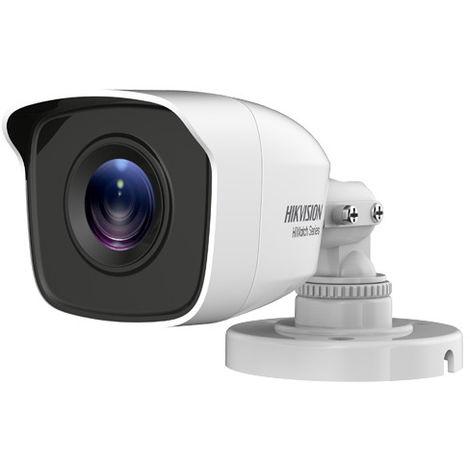 Cámara de Seguridad Bullet Objetivo lente 2,8mm 4en1 IP66 Apto exteriores IR Alcance ed 20 metros Chasis metálico Hwt-b140-m