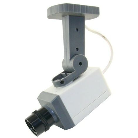 Cámara de Seguridad Simulada Para usos en Exterior CS705 incorpora sensor de movimiento