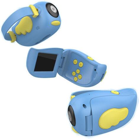 Camara de video 1500W 120 ¡ã angulo Amplio digital videocamara multifuncion Ips pequeno angel cubierta de la pantalla, Azul