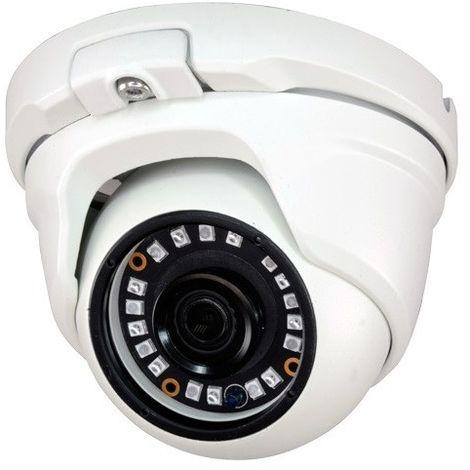 Cámara Domo 5Mpx ext/int 4 en 1 todas las tecnologías óptica fija y visión nocturna 20m