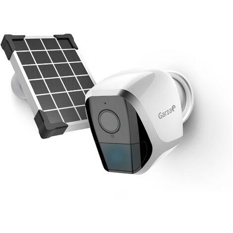 Camara exterior vigilancia con bateria y panel solar IP WIFI HD 1080p GARZA SMART HOME401365
