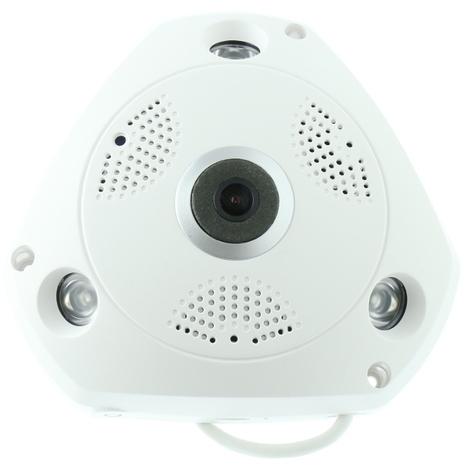 Camara IP 360º WIFI domo alta definición visión nocturna audio