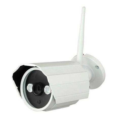 Cámara IP bullet exterior, óptica fija, 1.3Mpx, ONVIF y PoE, visión nocturna 15m