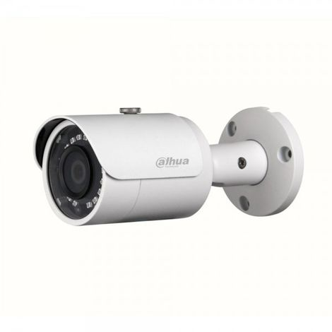 Cámara IP bullet exterior, óptica fija 2.8mm, 4Mpx, ONVIF y PoE, visión nocturna 30m