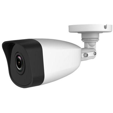 Cámara IP bullet exterior, óptica fija, 2Mpx, ONVIF y PoE, visión nocturna 30m