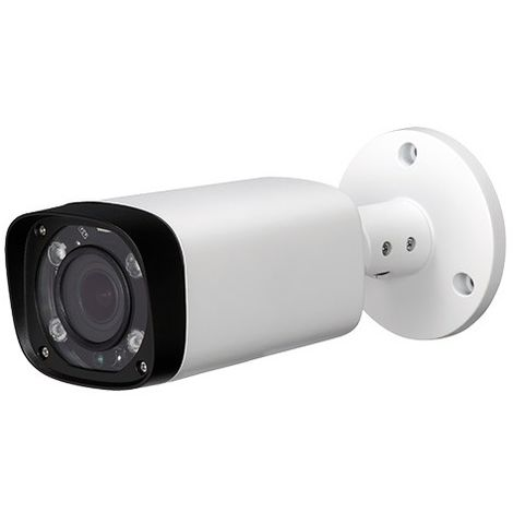 Cámara IP bullet exterior, óptica varifocal, 2Mpx, ONVIF y PoE, visión nocturna 30m
