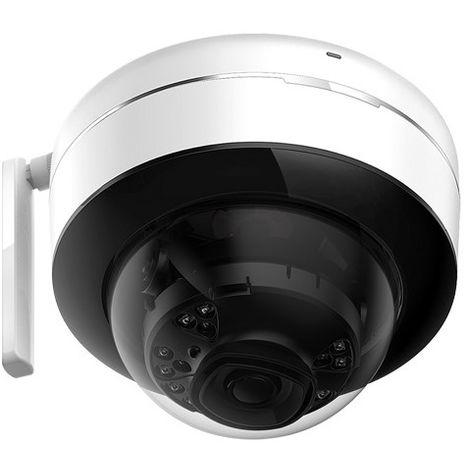 Cámara IP domo ext/int, óptica fija, 3Mpx, ONVIF ,visión nocturna 30m PoE