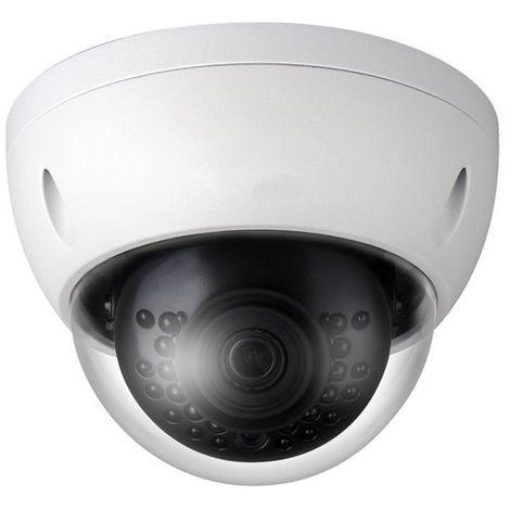 Cámara IP domo ext/int, óptica fija, 4Mpx, ONVIF, PoE visión nocturna 30m