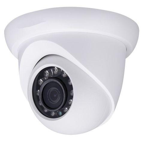 Cámara IP domo ext/int, óptica fija, 4Mpx, ONVIF y PoE, visión nocturna 30m
