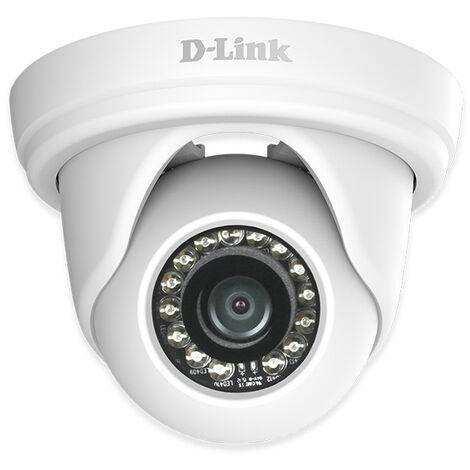 "main image of ""Cámara ip exterior d-link mini domo dcs-4802e hd 1080p poe (h/v/d): 96° / 54° / 108° zoom 10x blanco Rogal"""