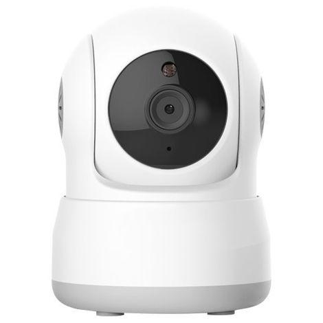 Cámara IP Wifi 1mpx, interior, óptica fija 3.6mm, motorizada, ONVIF y visión nocturna 5m. Audio.