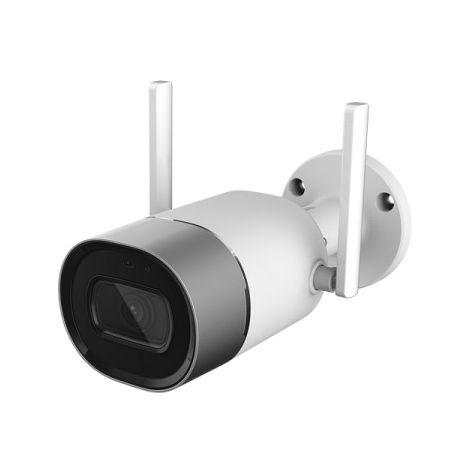 Cámara IP Wifi bullet exterior, óptica fija, 2Mpx, ONVIF y PoE, visión nocturna 30m