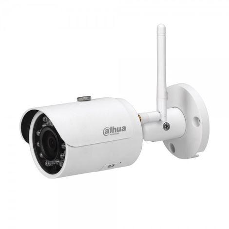 Cámara IP Wifi bullet exterior, óptica fija 3.6mm, 3Mpx, ONVIF y PoE, visión nocturna 30m