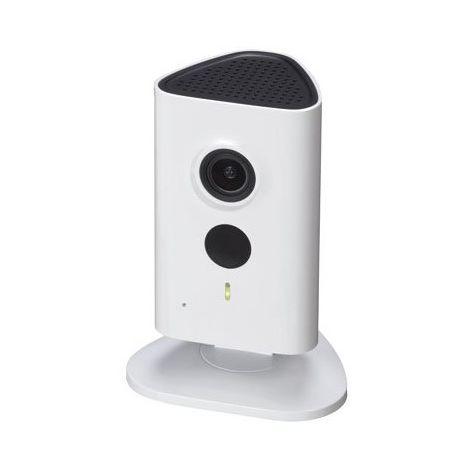 Cámara IP Wifi Cubo 1.3Mpx, óptica fija 2.3mm, interior. Visión nocturna 5m y audio incorporado.