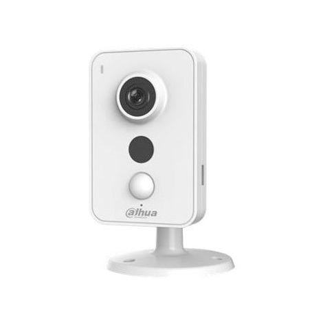 Cámara IP Wifi Cubo 3Mpx, Dahua, óptica fija 2.8mm, interior. Visión nocturna 10m y audio incorporado.