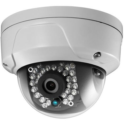 Cámara IP Wifi domo ext/int, óptica fija, 2Mpx, ONVIF, PoE visión nocturna 30m