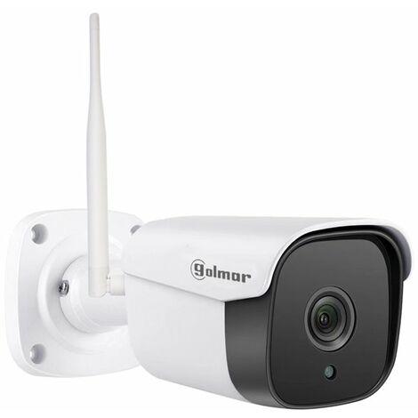 Camara IP wifi residencial Exterior/Interior CIP-002RS GOLMAR