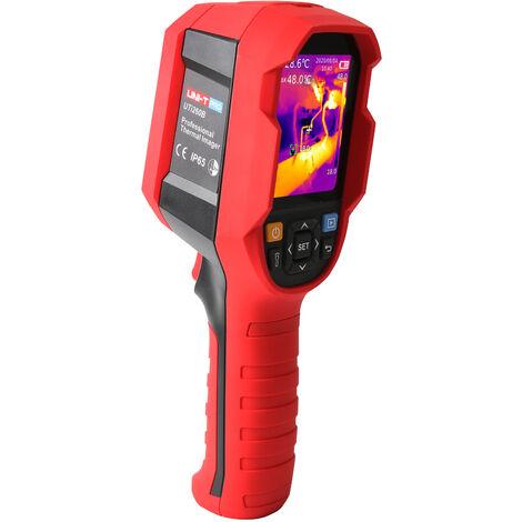 Camara termografica infrarroja, imagenes termicas Temperatura de superficie de pixeles Combinacion de imagenes termicas en tiempo real
