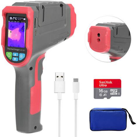 Camara termografica infrarroja portatil de 2,4 pulgadas
