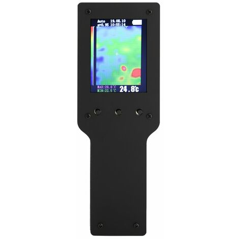 Camara termografica infrarroja portatil de mano, instrumento de medicion del termometro de la camara de imagen termica