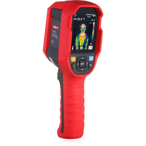 Camara termografica infrarroja profesional de imagenes termicas UNI-T, con alarma de alta temperatura
