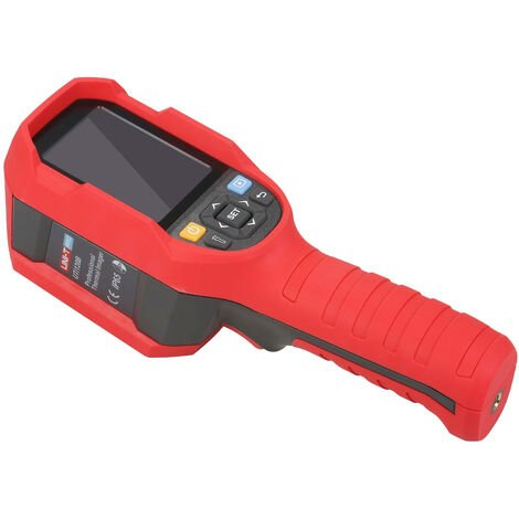 Camara termografica profesional UNI-T, camara termografica infrarroja de 120 x 90 IR, con pantalla LCD de 2,8 pulgadas, 320 x 240 pixeles, tarjeta de memoria de 16 GB