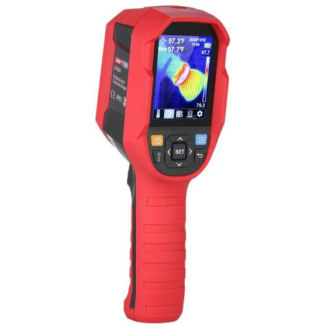 Camara termografica profesional UNI-T, dispositivo de vision nocturna con pantalla LCD TFT de 2,8 pulgadas