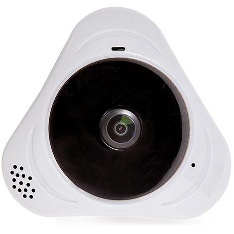 Cámara Wifi 1,3Mp 360º Ojo de Pez. Detección Proximidad. Audio Bidireccional. Plug & View (KZ-PEC09)