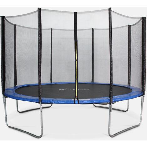 Cama elástica 370 cm, Trampolín para niños, aguanta hasta 150 kg (estructura reforzada) - SATURNE