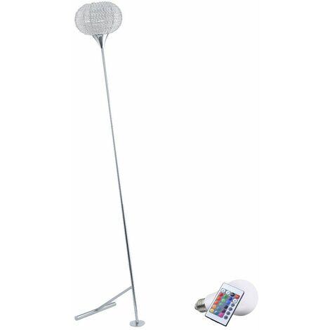 cambios de color lámpara de pie LED de 7 vatios RGB destacan la lámpara de iluminación tenue oficina