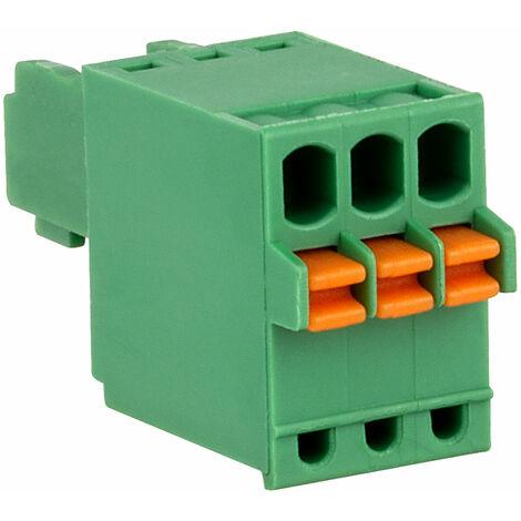 "main image of ""Camblock Plus CSTBP92HC/3 2.5 Pitch Pluggable Screwless Terminal Block 3p"""