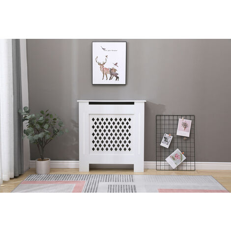 Cambridge white radiator cover