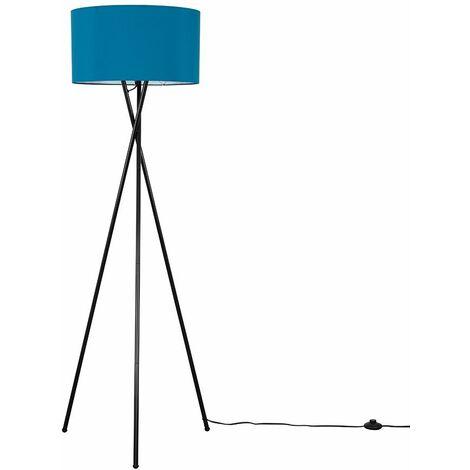 Camden Black Tripod Floor Lamp