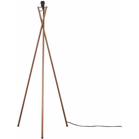 Camden Metal Tripod Floor Lamp Base - Copper